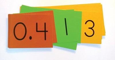 Singapore Math Place Value Decimal Strips (30 Strips)  -