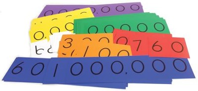 Singapore Math Place Value Strips - 7 Digit (Millions)  -