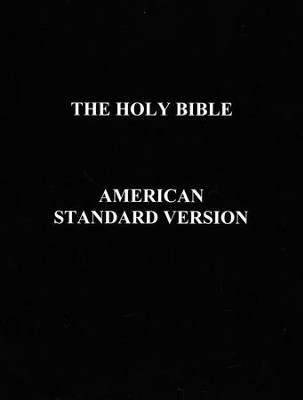 ASV Holy Bible  -     By: Benediction Classics