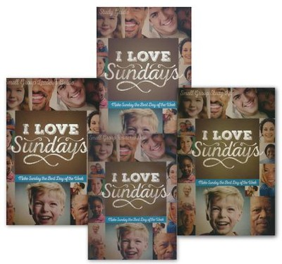 I Love Sundays DVD Study Kit  -
