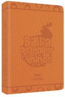 Biblia de Poder para Niños RVC, Piel Especial  (RVC Fire Bible for Kids, Leathersoft)  -