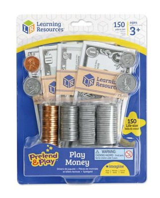 Pretend and Play Play Money  -
