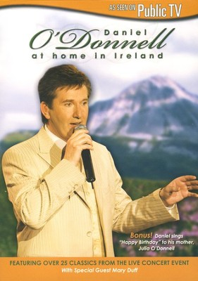 At Home In Ireland with Daniel O'Donnell DVD  -