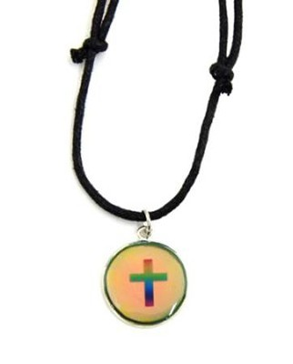 Mood Cross Necklace  -