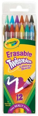 Crayola, Twistables Colored Pencils, 12 Pieces  -