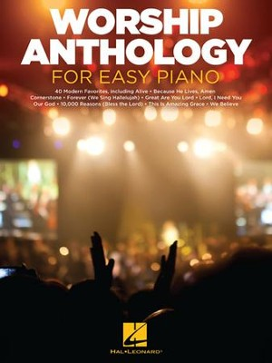 Worship Anthology for Easy Piano   -