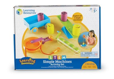 STEM, Simple Machines Activity Set  -