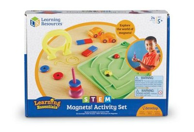 STEM, Magnets Activity Set  -