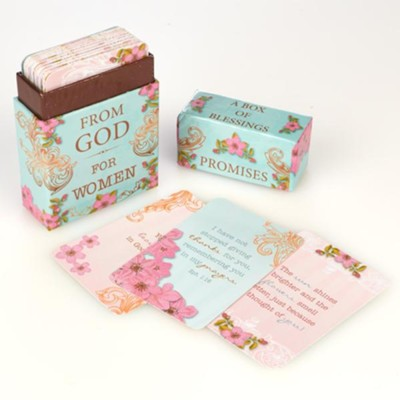 Promises from God for Women, Box of Blessings  -