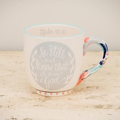 Be Still and Know That I Am God Jumbo Mug  -