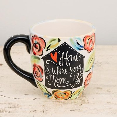 Home Is Where Your Mom Is Mug  -