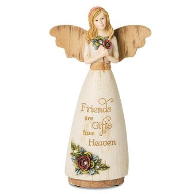 Friends Are Gifts From Heaven Angel Figure  -