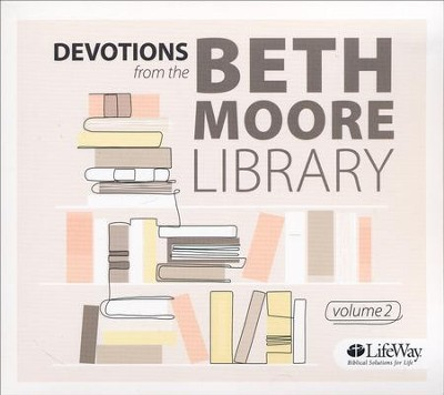 Devotions from the Beth Moore Library: Volume 2 (CD set)  -     By: Beth Moore