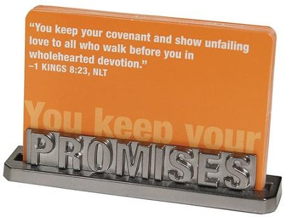 Promises Scripture Card Holder  -