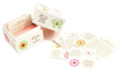 In Christ Scripture Cards, Butterfly Gift Boxed  -