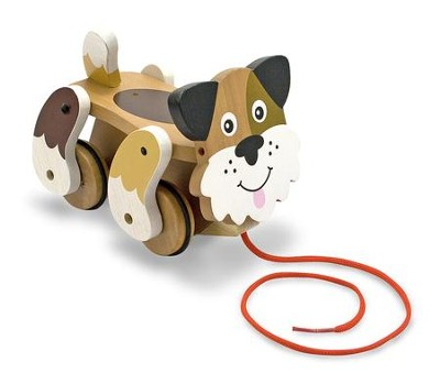 Playful Puppy Pull Toy  -