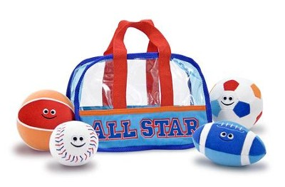 Fill and Spill Sports Bag and Balls  -