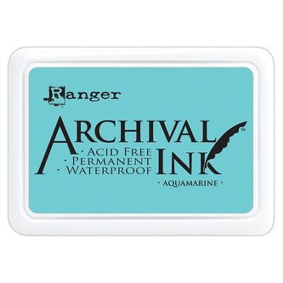 Archival Ink Pad - Aquamarine  -