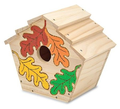 Build-Your-Own Wooden Birdhouse  -