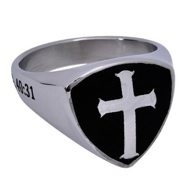 Wings Shield Cross, Size 11   -
