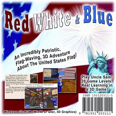 Red, White, and Blue Computer Game (Access Code Only)   -
