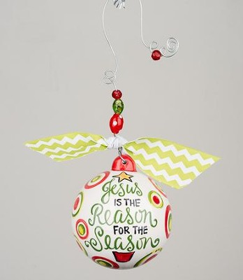 Reason for the Season Ball Ornament  -