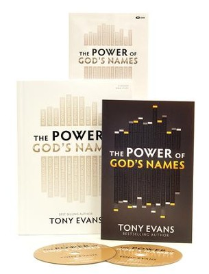 The Power of God's Names (DVD Leader Kit)  -     By: Tony Evans