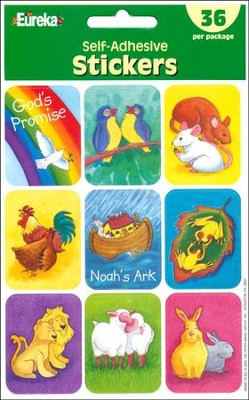 Scripture Press Noah's Ark Stickers    -