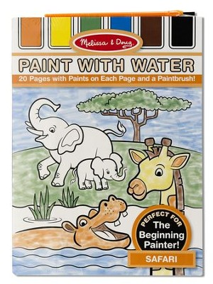 Safari, Paint with Water  -