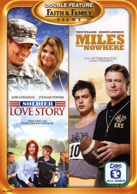 Soldier Love Story/Miles From Nowhere, Double Feature DVD   -