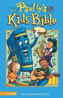 NIV (1984) Psalty's Kids Bible, Revised--hardcover   -     Edited By: Ernie Rettino, Debbie Rettino     By: Ernie Rettino