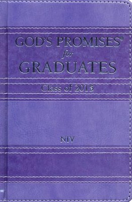 NIV God's Promises for Graduates: Class of 2015, Lavender  -     By: Jack Countryman