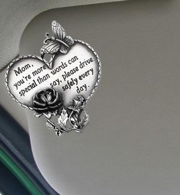 Mom, You're Special--Visor Clip   -