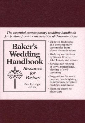 Baker's Wedding Handbook   -     By: Paul Engle