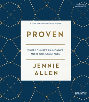 Proven DVD Study Kit   -     By: Jennie Allen