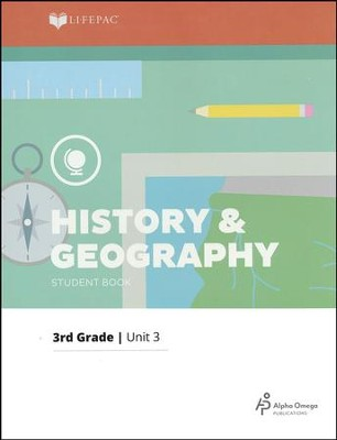 LIFEPAC History & Geography Student Book Grade 3 Unit 3 2011 Edition: Mid-Atlantic States  -