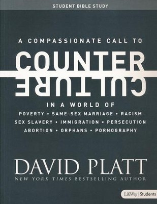 Counter Culture Member Book, Student Edition  -     By: David Platt