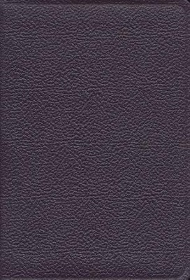 KJV Heritage Edition Bible and Prayer Book--calf split leather, purple  -
