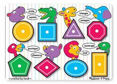 Shapes Peg Puzzle  -