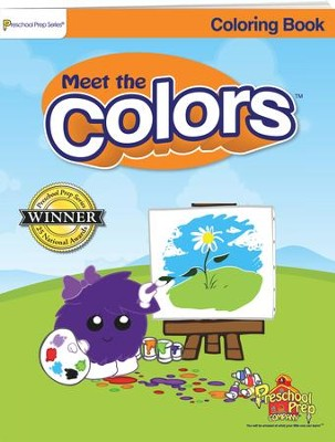 Meet the Colors Coloring Book   -