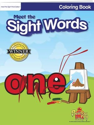 Meet the Sight Words Coloring Book   -