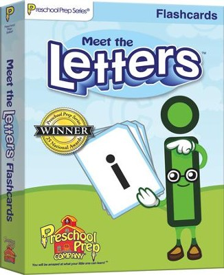 Meet the Letters Flashcards   -