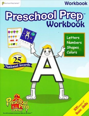 Preschool Prep Basic Skills Workbook   -