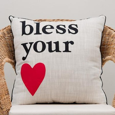 Bless Your [Heart] Pillow  -