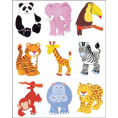 Scripture Press Jungle Animals Stickers    -