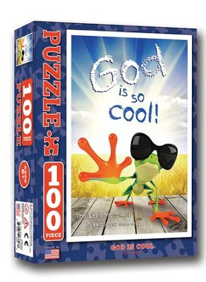 God is So Cool Puzzle, 100 Pc.  -