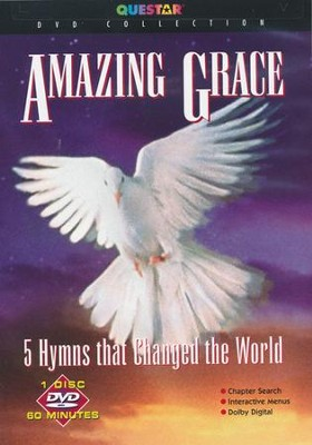 Amazing Grace: 5 Hymns That Changed the World, DVD   -