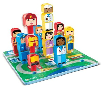 Peg Friends, Around the Town, 28 Pieces  -