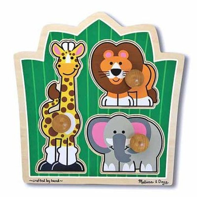 Jungle Friends Jumbo Knob Puzzle  -
