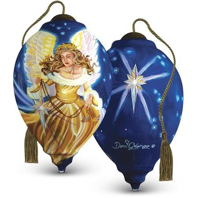 The Light Of The World Ornament  -     By: Dona Gelsinger